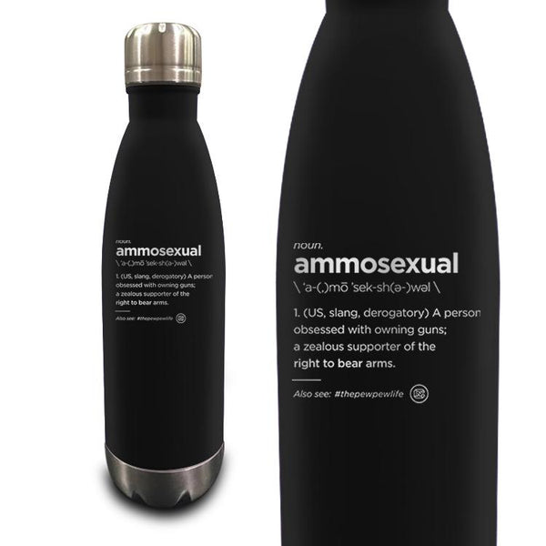 Ammo Sexual Definition 17oz Vacuum Insulated Bottle