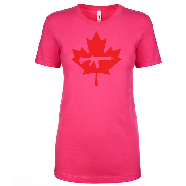 Keep Canada Tactical Maple Leaf Women's Shirt