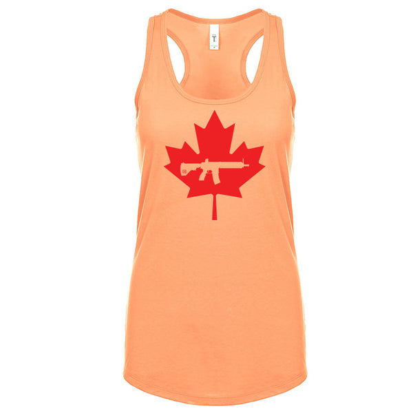 Keep Canada Tactical Maple Leaf Women's Tank