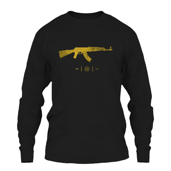 AK-47 Gold Foil Long Sleeve