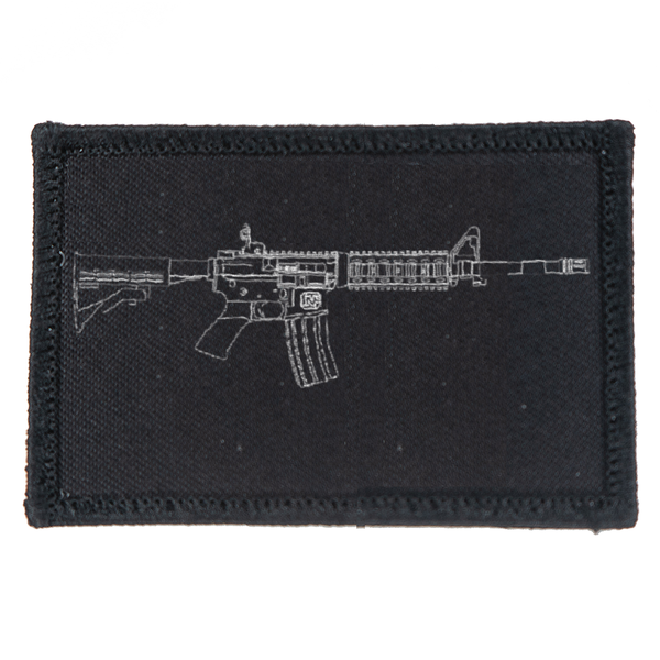 AR-15 Beauty in Lines Patch