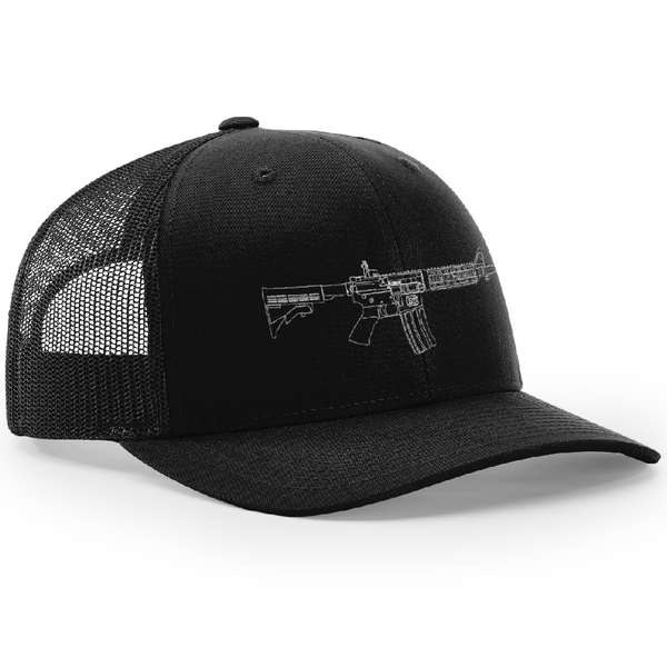 Ar-15 Beauty Trucker Hat