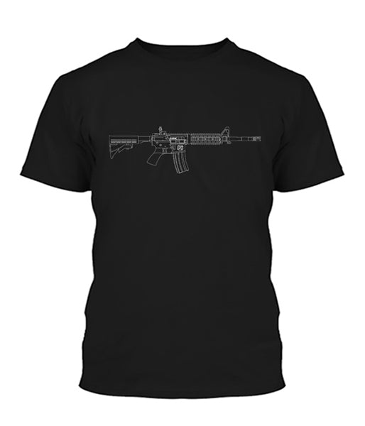 AR-15 Beauty in Lines Shirt