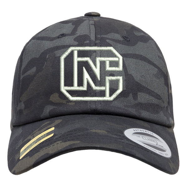 CN Logo Tactical Black MultiCam Adjustable FlexFit Hat