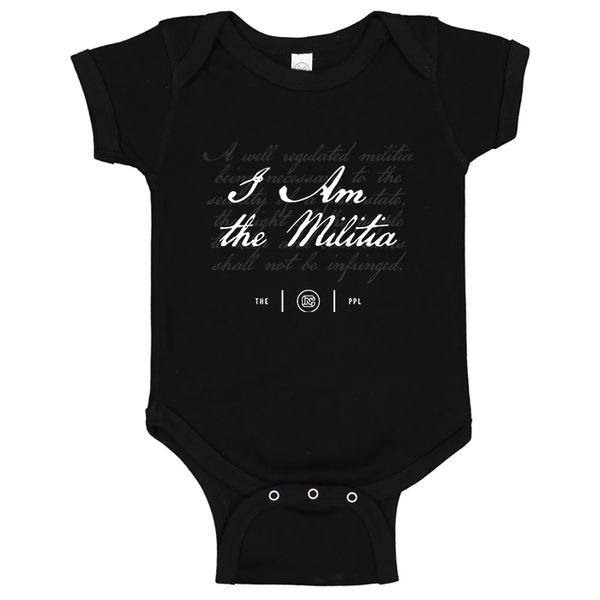 I Am The Militia Onesie