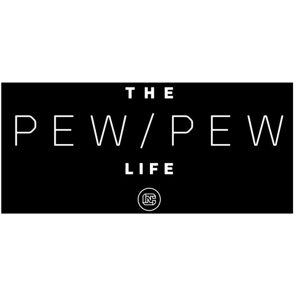 Pew Pew Life Sticker