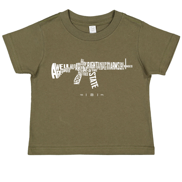 AR-15's are protected by the Second Amendment Toddler Tee