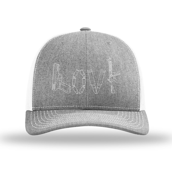 14115ea78 Tactical Love Trucker Hat