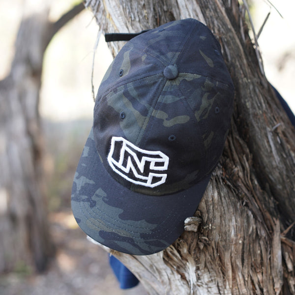 CN Logo Dad Hat Tactical Black MultiCam