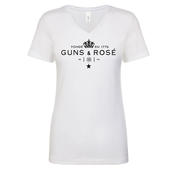 Guns & RosÉ Women's V Neck