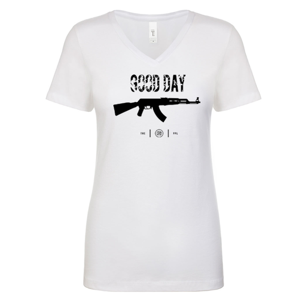 Good Day AK-47 Women's V Neck