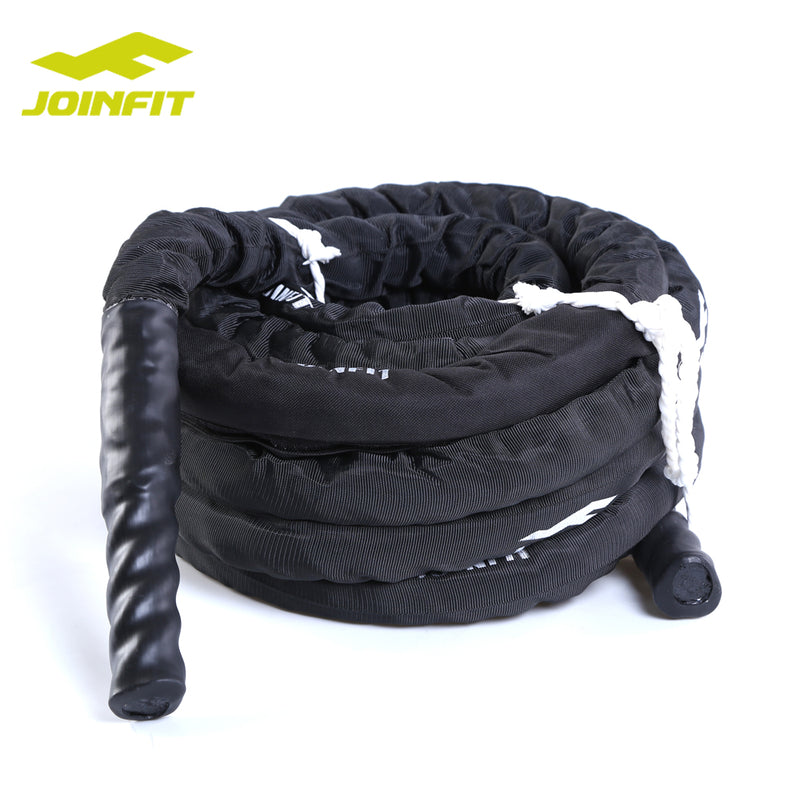 "1.5""X15m Battle Rope CrossFit and Gym/Polyester Power Rope with Sheath/Strength Training Battle Rope"