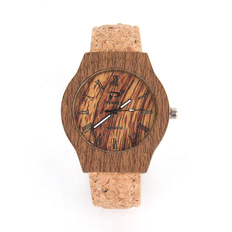 Natural Cork Watch