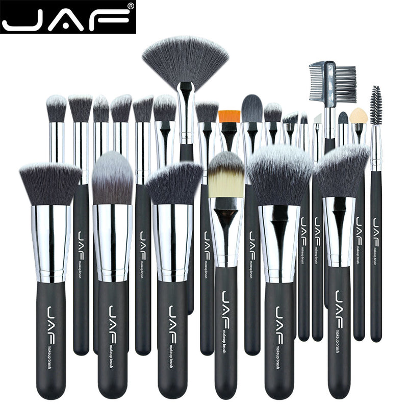 JAF 24 Pcs Vegan Professional Makeup Brushes
