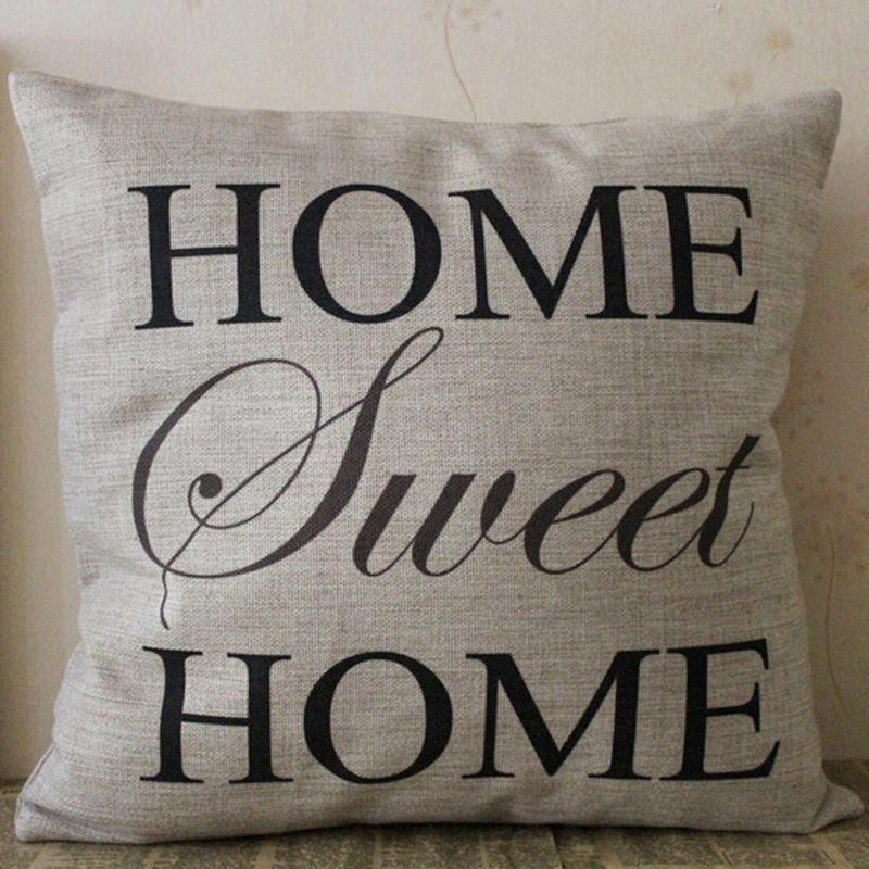 knitted pillow case vintage Cushion Cotton Linen pillow cover Throw Covers Pillowslip Case Linen Square Throw coussin