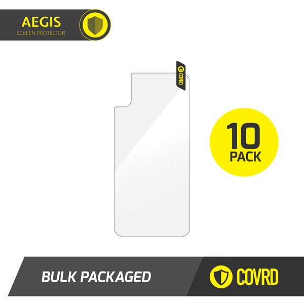 AEGIS iPhone Back Tempered Glass  - Bulk Packaged - Elevate Supply
