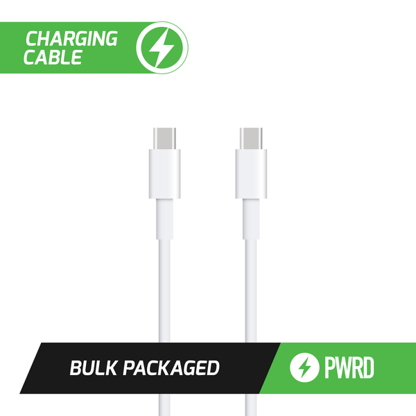 PWRD 2M USB C to USB C (Bulk) - Elevate Supply