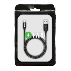 PWRD 3M MFI Braided Lightning Cable (Bulk) - Elevate Supply