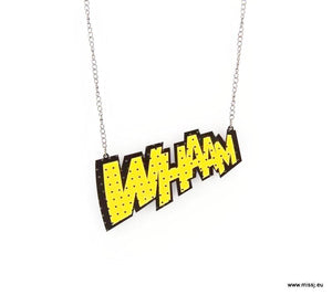 WHAAM Pop Art Necklace