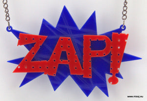 ZAP Pop Art Necklace - MissJ Designs