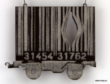 Banksy Barcode Container Carriage Necklace