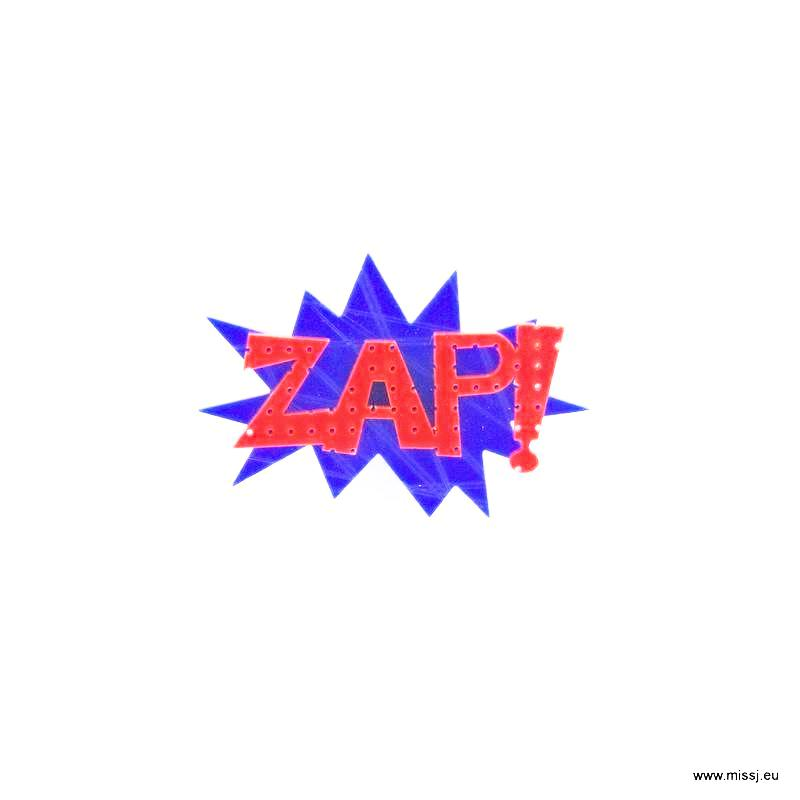 ZAP Pop Art Brooch - MissJ Designs