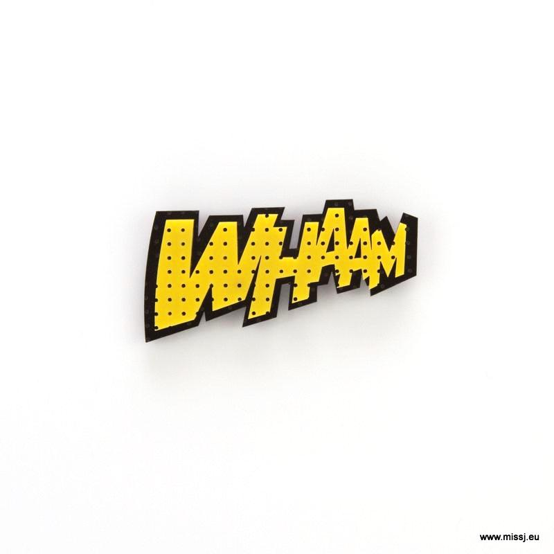 WHAAM Pop Art Brooch