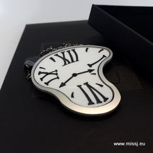 Dali Melting Clock Brooch