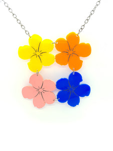 Andy's Flowers Necklace