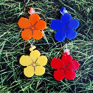Andy Warhol Flowers Earrings