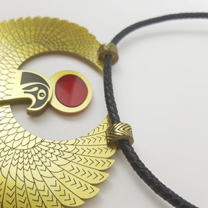 Golden Falcon Necklace - MissJ Designs