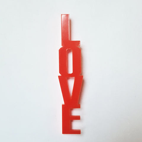 Limited edition Love Brooch