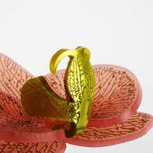 Blush Pink with Gold Limited Edition Orchid Brooch SOLD OUT - MissJ Designs