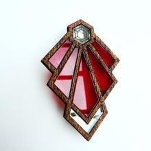 Tulip Art Deco Brooch