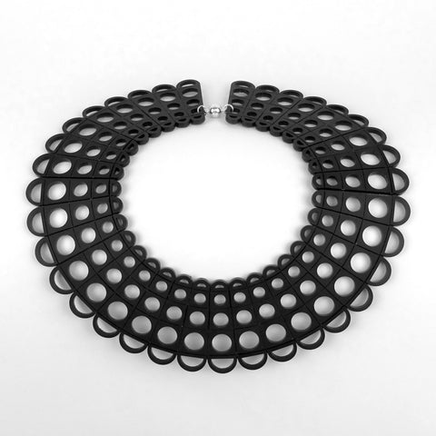 Duchess Collar in Black - MissJ Designs