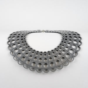 Duchess Collar in Grey