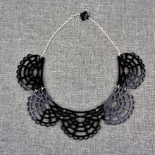 Victorian Necklace Black