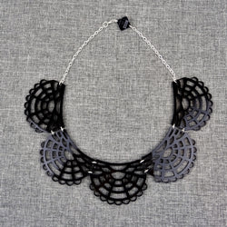 Victorian Necklace Black - MissJ Designs