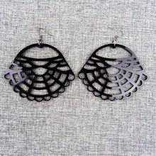 Victorian Earrings Black