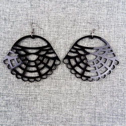 Victorian Earrings Black - MissJ Designs
