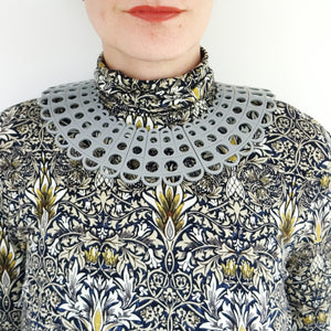 Duchess Collar in Grey - MissJ Designs