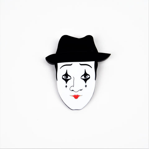 Mime Brooch Mini Version
