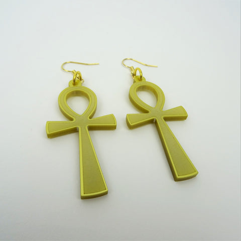 Ankh Earrings - MissJ Designs