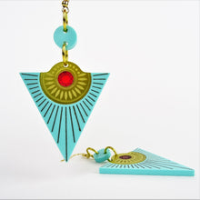Osiris Rising Sun Earrings