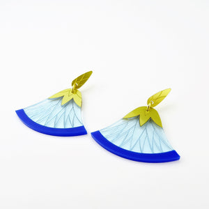 Reed Flower Earrings