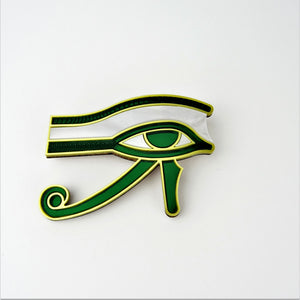 Eye of Horus Brooch - MissJ Designs
