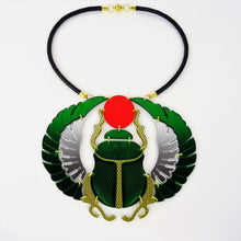 Scarab Beetle Necklace - MissJ Designs