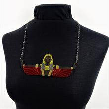Winged Goddess of Hathor Necklace