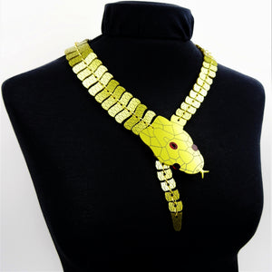 Cleopatra's Asp Statement Necklace - MissJ Designs