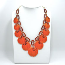 Halloween Pumpkin Necklace - MissJ Designs